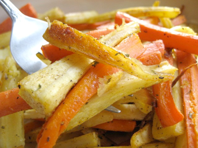 roasted carrots and parsnips with cumin keys to the cucina 5