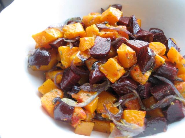roastedbutternutsquash-roastedbeets-redonion-spinach4
