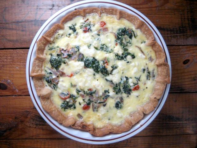 spinach feta tomato quiche keys to the cucina 2