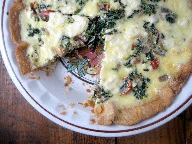 spinach feta tomato quiche keys to the cucina 5