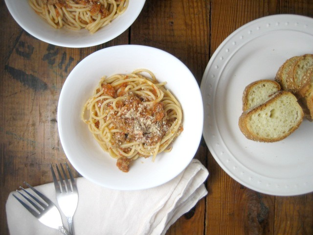 spaghetti bolognese with turkey keys to the cucina 2