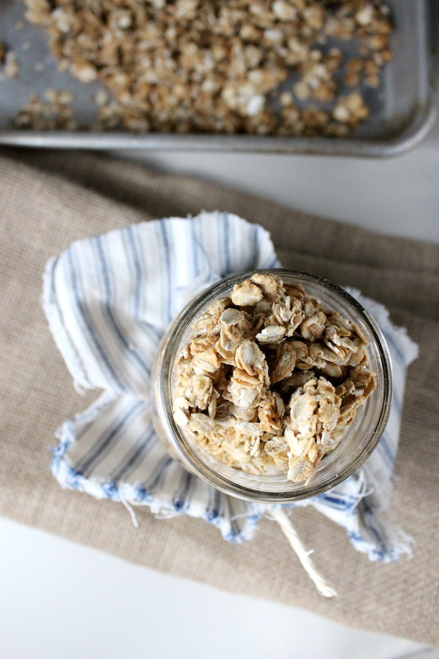 granola with honey and maple syrup keys to the cucina 1