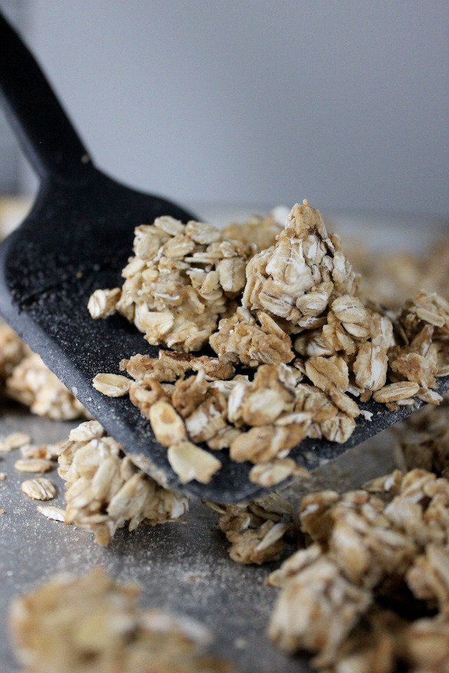 granola with honey and maple syrup keys to the cucina 3