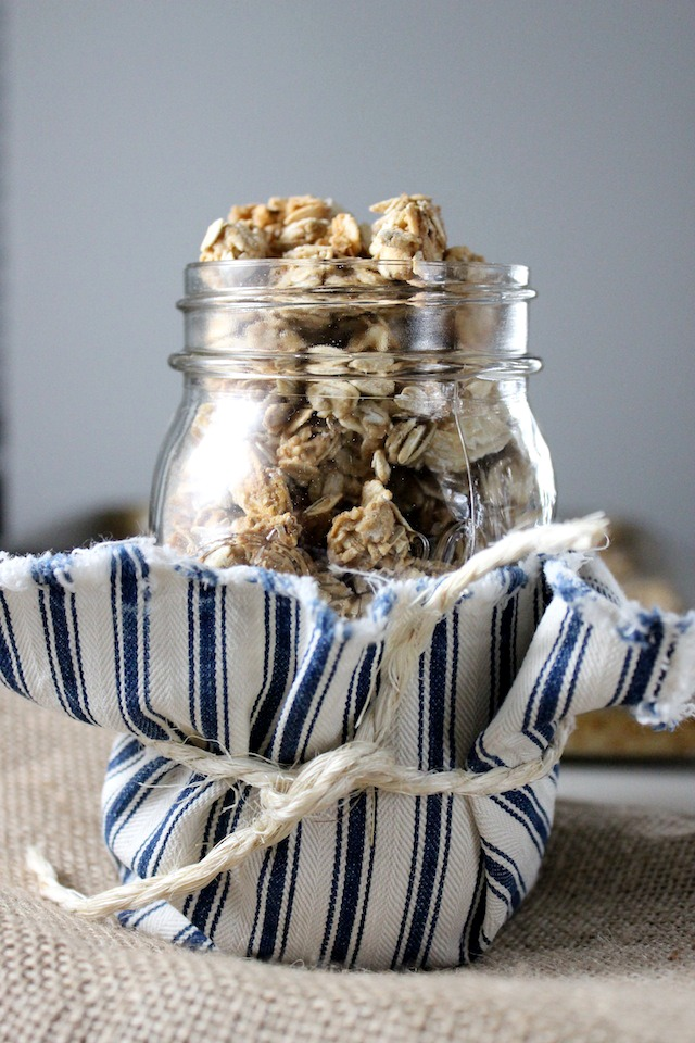 granola with honey and maple syrup keys to the cucina 4