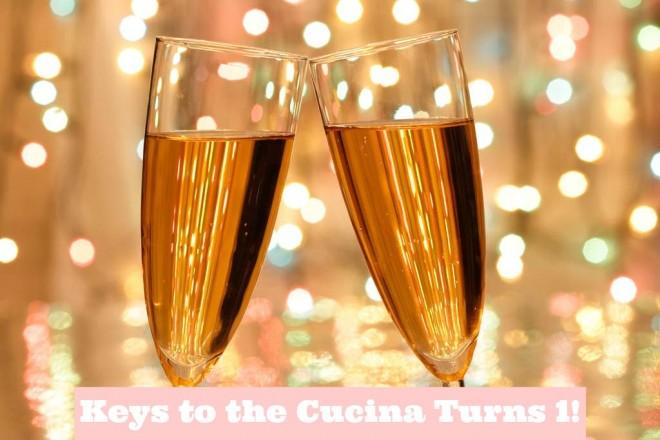 keys to the cucina turns 1 celebrate