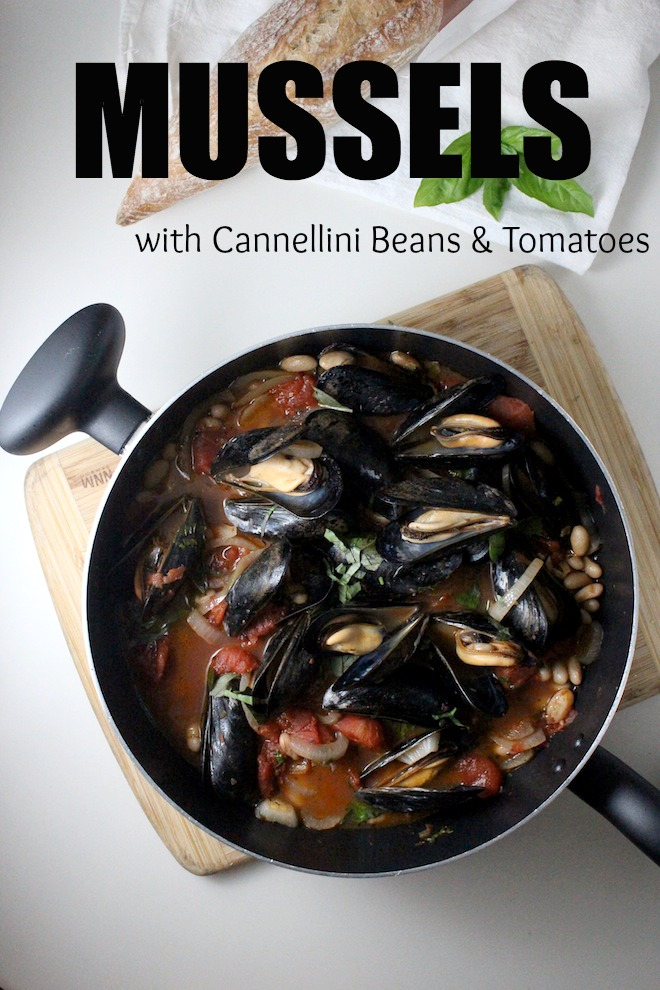 mussels cannellini beans tomato basil keys to the cucina 4