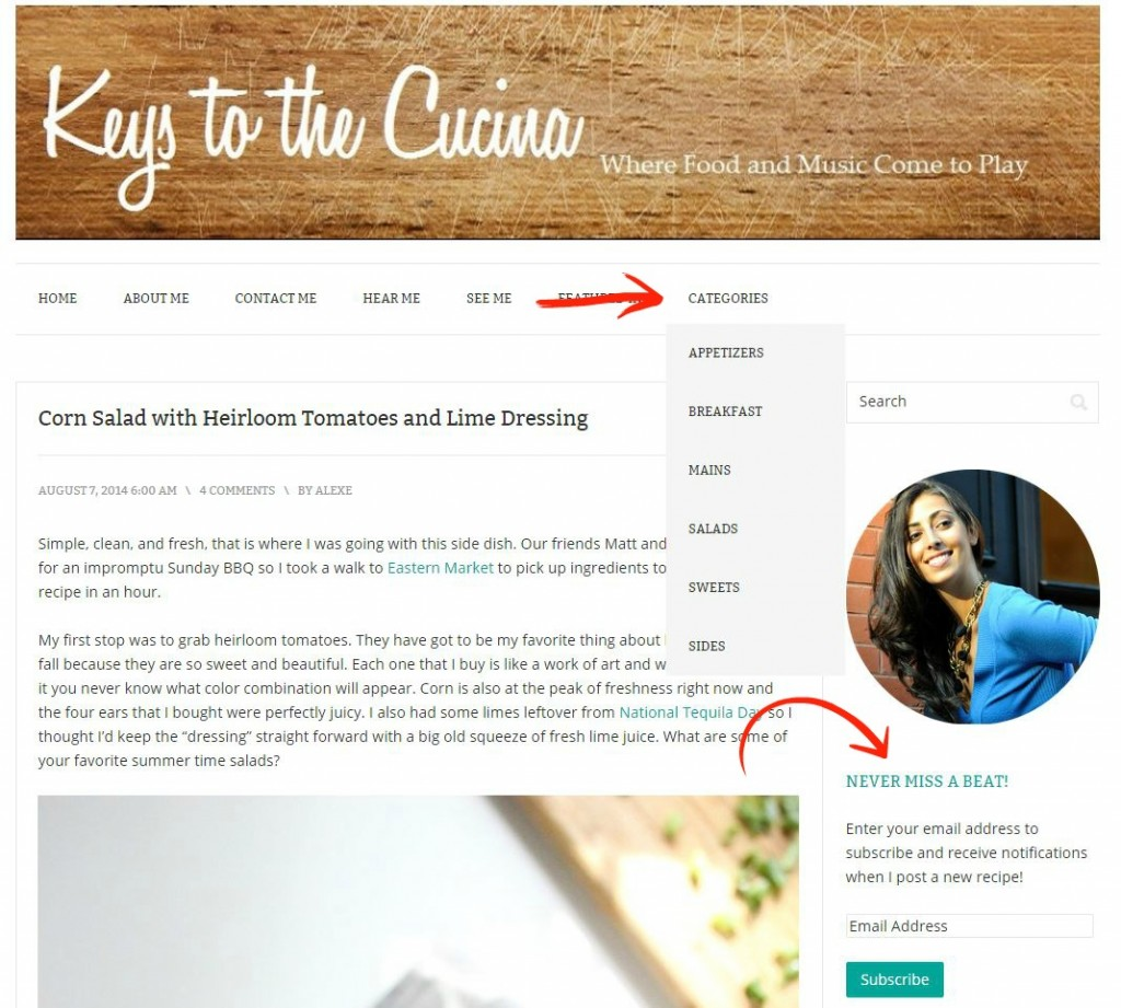 keys to the cucina new features_v2