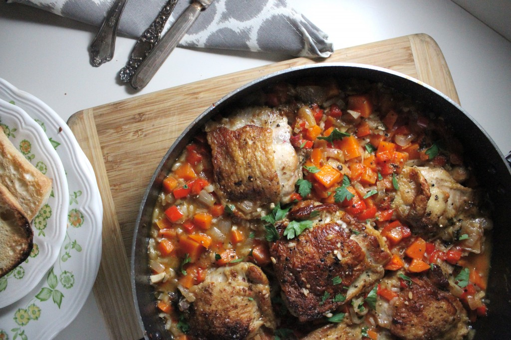 arroz con pollo with carrots keys to the cucina 1
