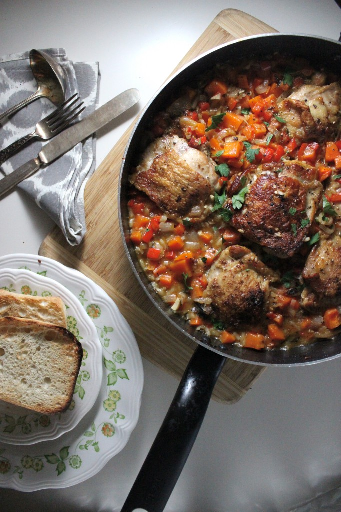 arroz con pollo with carrots keys to the cucina 4