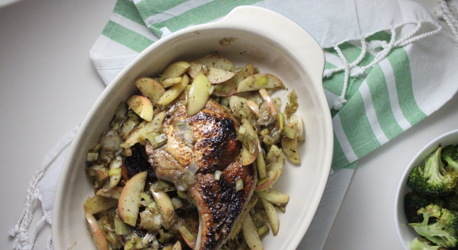 keys to the cucina pork chops apple leegs sage 3