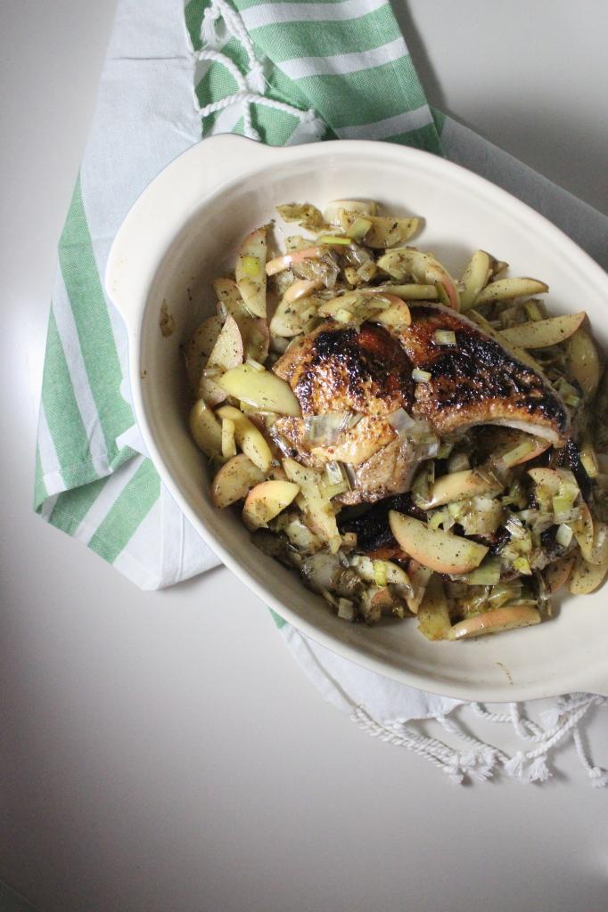 keys to the cucina pork chops apple leegs sage 4