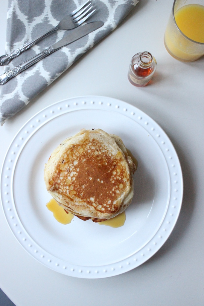 pancakes with loris salted caramel maple syrup keys to the cucina 3