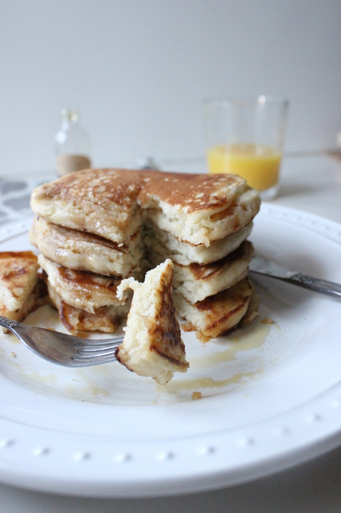 pancakes with loris salted caramel maple syrup keys to the cucina 4
