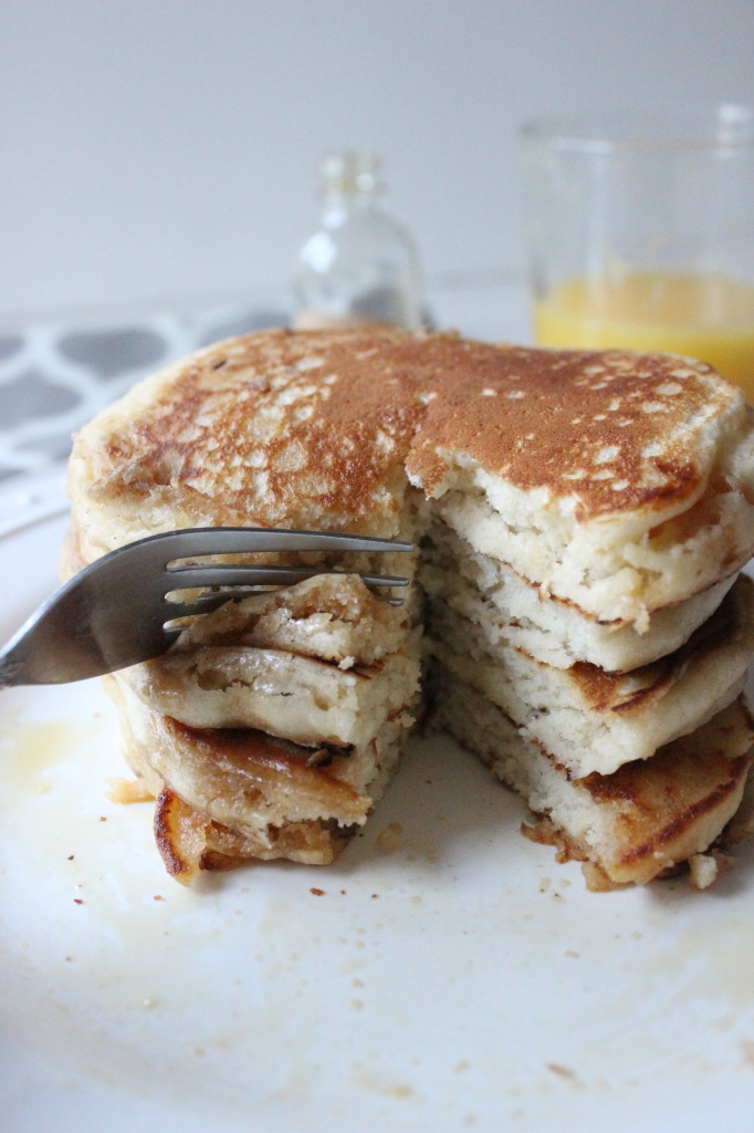 pancakes with loris salted caramel maple syrup keys to the cucina 5