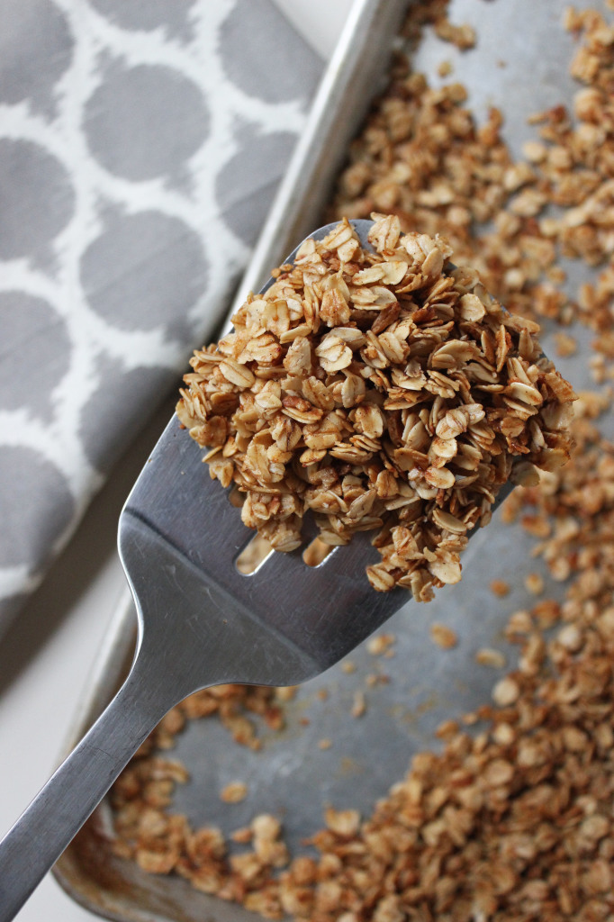 keys to the cucina coconut honey maple cinnamon granola 2