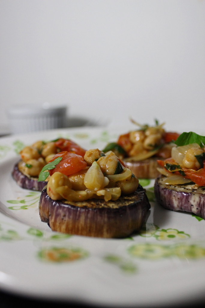 Graffiti Eggplant withTomatoes, Chickpeas and Ginger | Keys to the ...