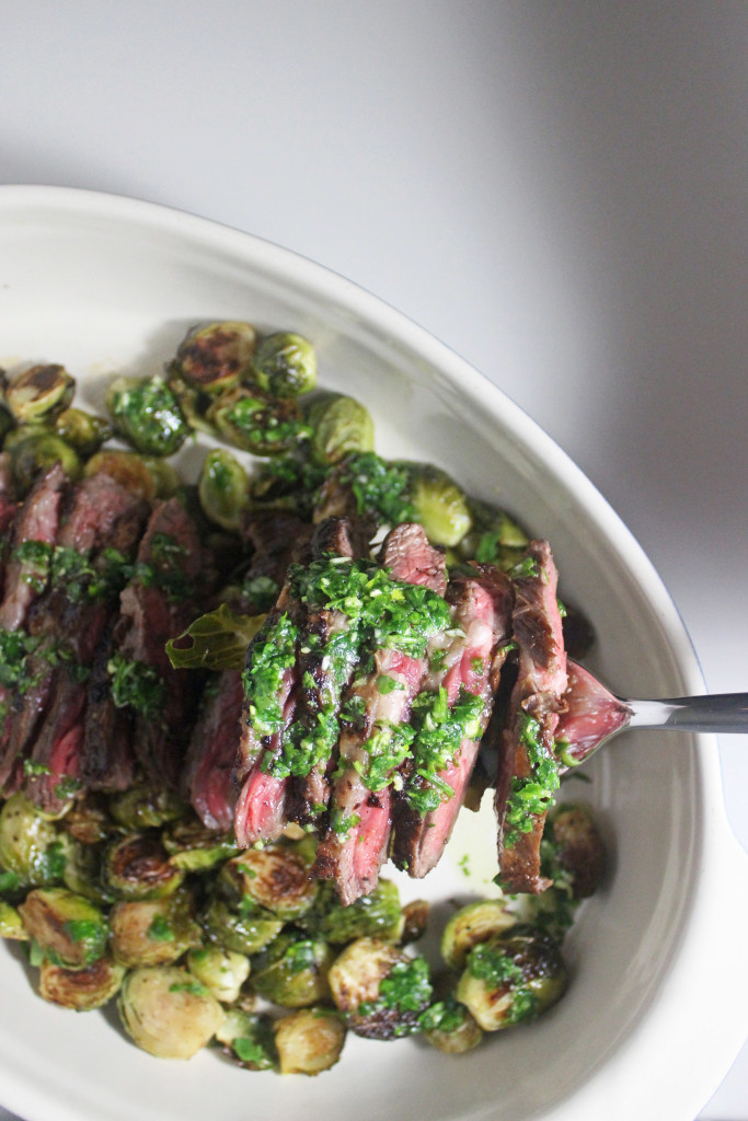chimichurri skirt steak www.keystothecucina.com 3