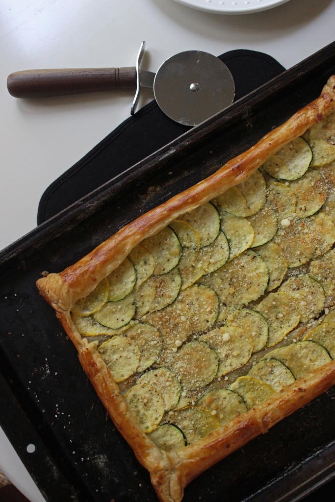 puffed pasty zucchini squash www.keystothecucina.com 2