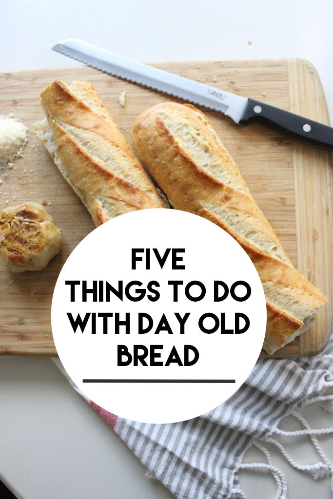 five things to do with day old bread www.keystothecucina.com