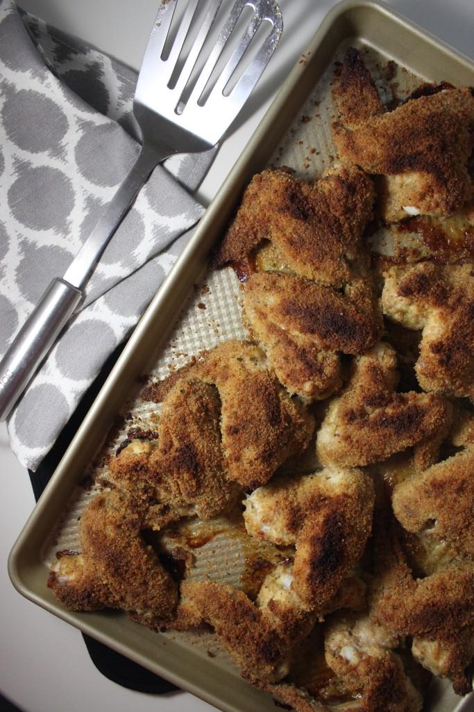 italian baked fried chicken www.keystothecucina.com 1