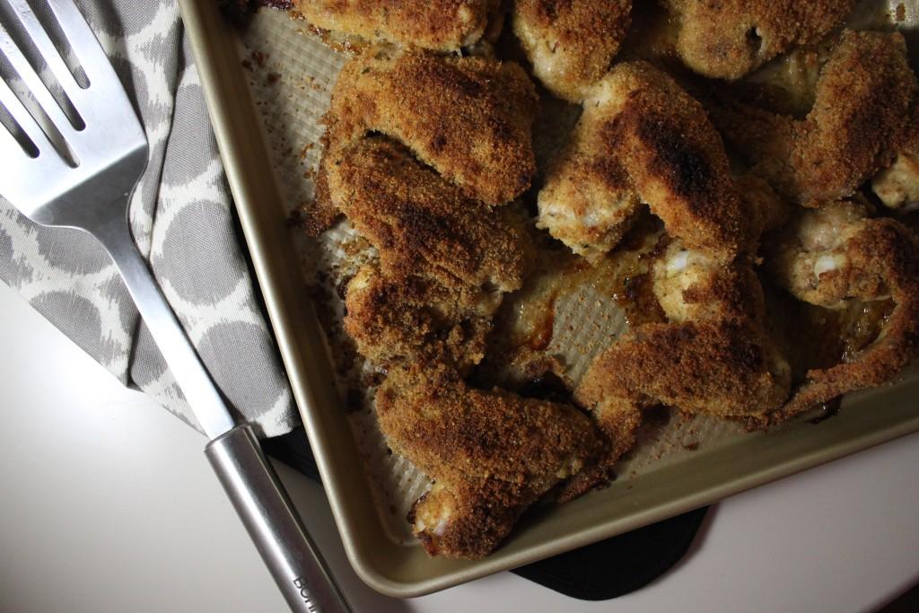 italian baked fried chicken www.keystothecucina.com 2