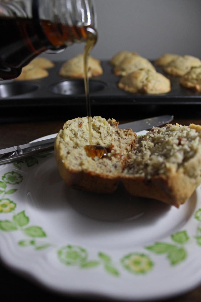 banana bread muffins bacon www.keystothecucina.com1