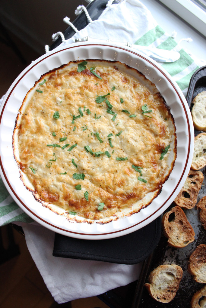 peapod crab dip with crostini www.keystothecucina3