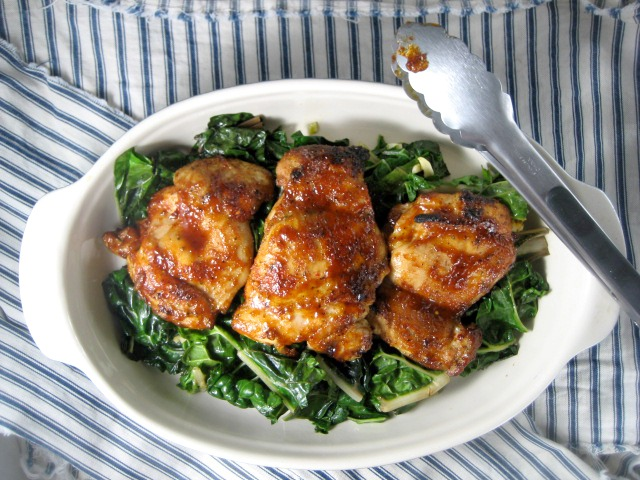 barbeque-chicken-thighs-sauteed-swiss-chard-keys-to-the-cucina-3