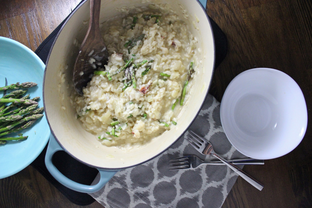 peapod lobster risotto asparagus keystothecucina.com 2