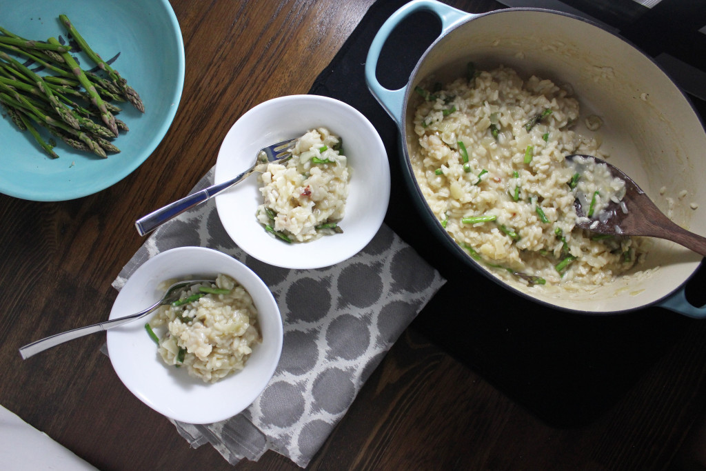 peapod lobster risotto asparagus keystothecucina.com 3