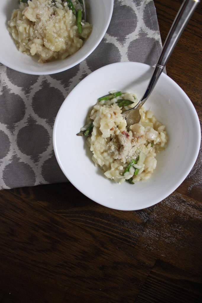 peapod lobster risotto asparagus keystothecucina.com 4