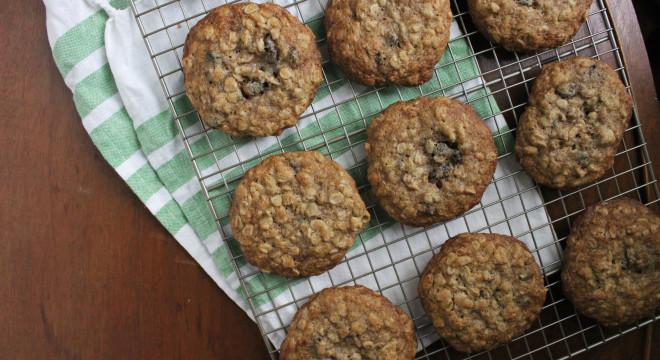 oatmeal raisin cookies keystothecucina.com 3