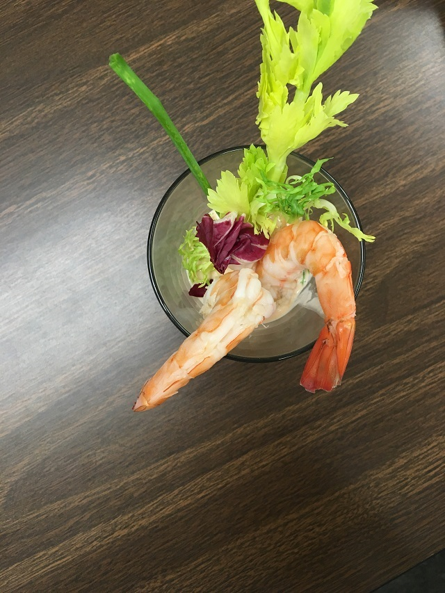 Shrimp Cocktail with Calypso Sauce