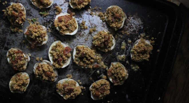clams casino bacon breadcrumbs keys to the cucina 1